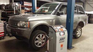 vidange boite de vitesse range rover sport