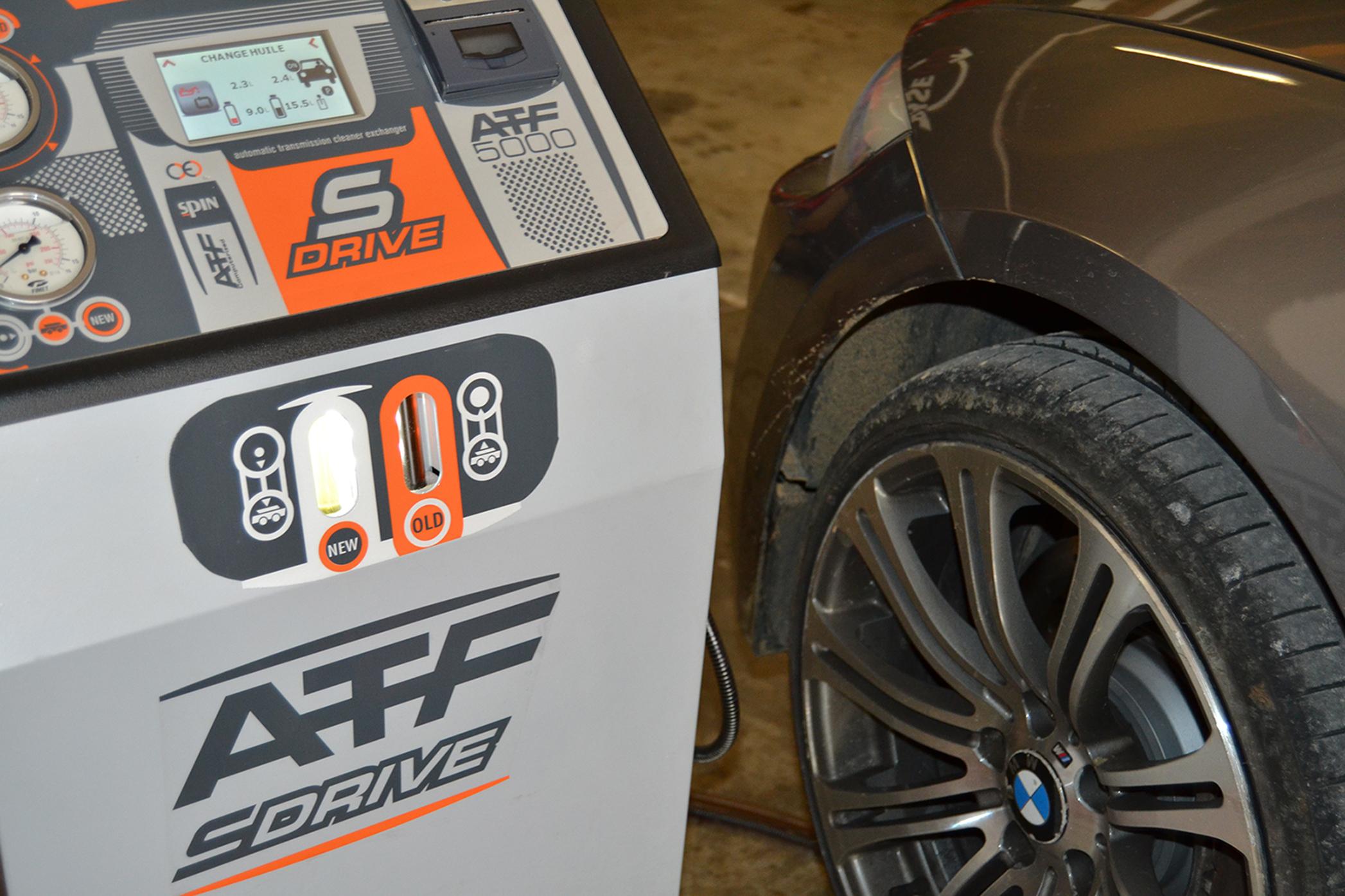 Vidange boite auto ZF6hp26 BMW E92 335d