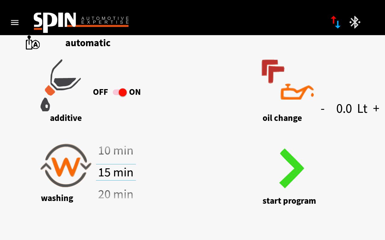 Système Remplissage d'huile Boite de vitesses